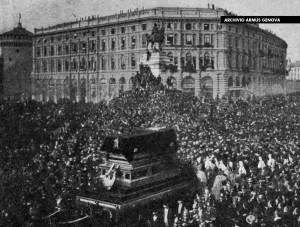 La funerale di Giuseppe Verdi